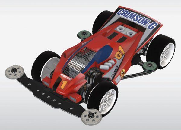 超速 グランプリ シャーシ 改造